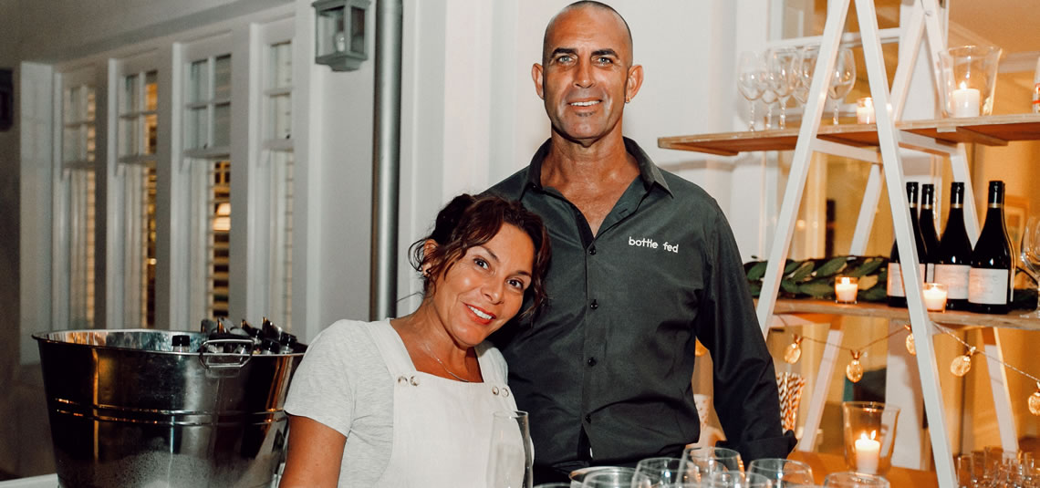 Mia and Paul at Spoon Fed Catering